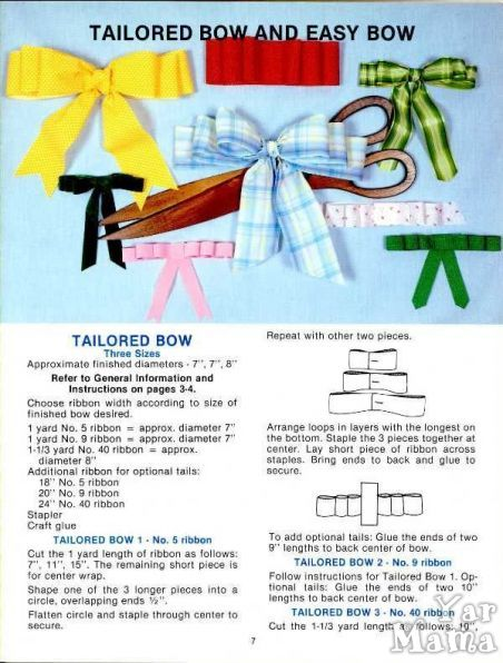 BOWS - STEP BY STEP - 07